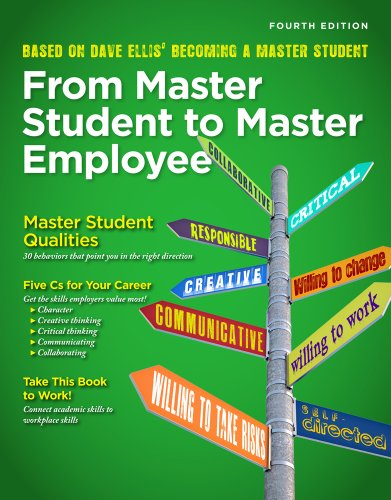 Download From Master Student to Master Employee 143546222X