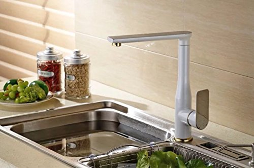 Find Bargain Sink Taps All copper hot and cold can be rotated Kitchen Taps