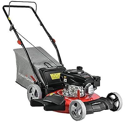 PowerSmart DB2321PR Gas Powered 170cc Engine Push Lawn Mower with Bag (DB2321PR)