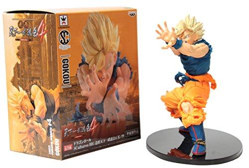 Dragon Ball Scultures BIG modélisation Tenkaichi Budokai 4 ? Super Saiyan Goku Noyon