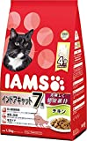 箱売り IAMS(アイムス) 猫用 7歳以上用 インドアキャット チキン 1.5kg(375g×小分け4袋)6袋 マースジャパン