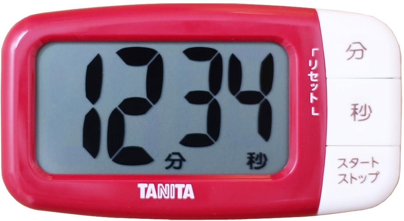 危険困惑ロンドンタニタ タイマー 大画面 100分 レッド TD-394 HRD タニタ食堂