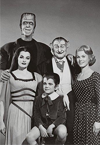 The Munsters, TV Show Cast, Herman, Lily, Grandpa, Eddie, Marilyn, Souvenir Magnet 2 x 3 Photo Fridge Magnet