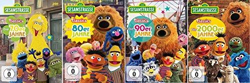 Sesamstraße Classics 70-2000 (Die 70er+80er+90er+2000er Jahre) [DVD Set]