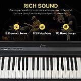 Immagine 1 donner portatile pianoforte digitale 88