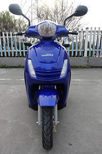 Scooter eléctrico con 3 ruedas GREEN23 ES15 para personas mayores discapacitadas (azul)