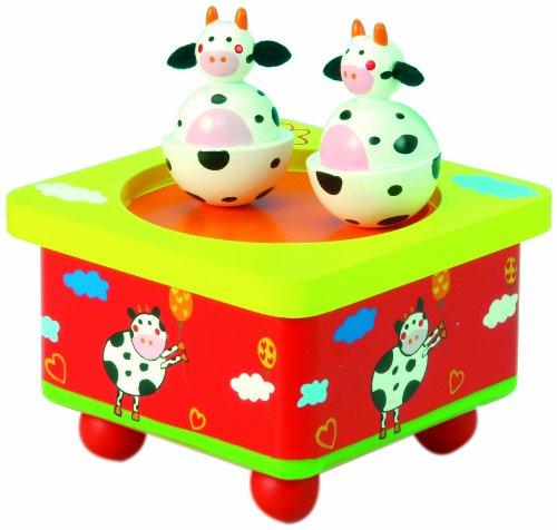 Spieluhrenwelt 44034 Tanzende Kühe