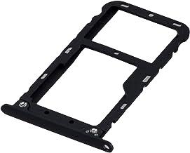 ICONIGON Reemplazo para Redmi Note 5 SIM e Micro-SD Card Tarjetas Soporte (Negro)