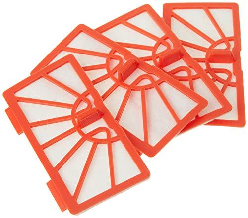 Neato Robotics Lot de 4 filtres standard de remplacement pour XV15 et XV25 Orange