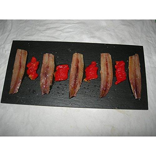 Lomos de sardina ahumada en tarrina en aceite (24/26 piezas)
