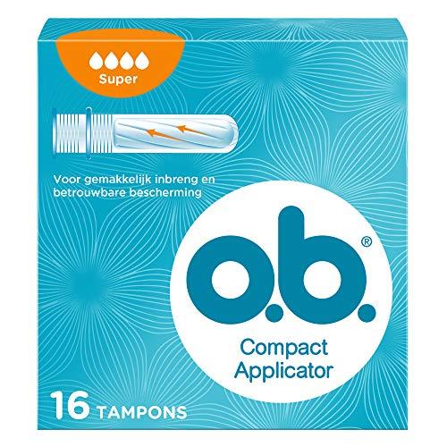 COMPACT Applicator f.o.b.Tampons super 16er 16 St