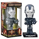 Wacky Wobbler Iron Man Mark 2 Marvel Cabezon PVC APPR 16cm Gris Grafito de Funko...