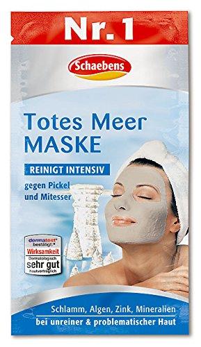 Schaebens Totes Meer Maske, 10er Pack (10 x 15 ml)