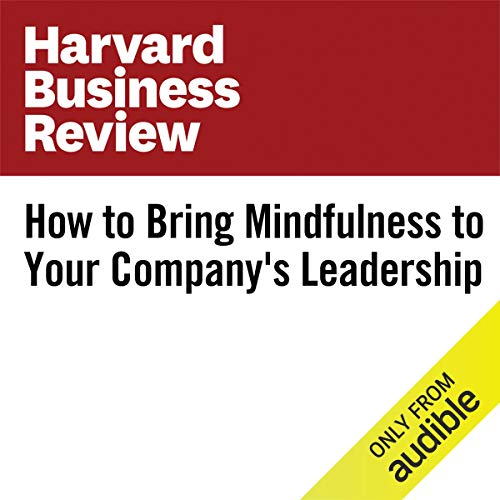『How to Bring Mindfulness to Your Company's Leadership』のカバーアート