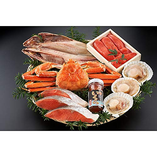 ( 産地直送 お取り寄せグルメ ) 北海道海鮮グルメ詰合せN100(ず400g、ほっけ1枚、紅鮭3切、明太子200g ・・・・・)