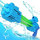 Water Guns for Kids Adult,5 Nozzles Super Squirt Guns,35FT Long Shot Water Cannon 1000CC, Water Guns Toys Gifts for Boys Girls,Children Summer Swimming Pool Beach Sand Outdoor Water Fighting Play Toys