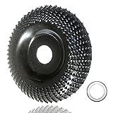 Discos Madera Amoladora 100 mm,Disco Para Tallar Madera Para Amoladoras Angulares,Muela Amoladora Para Desbaste de madera, adecuado para molinillos de ángulo con ruedas internas de 16 o 22 mm.