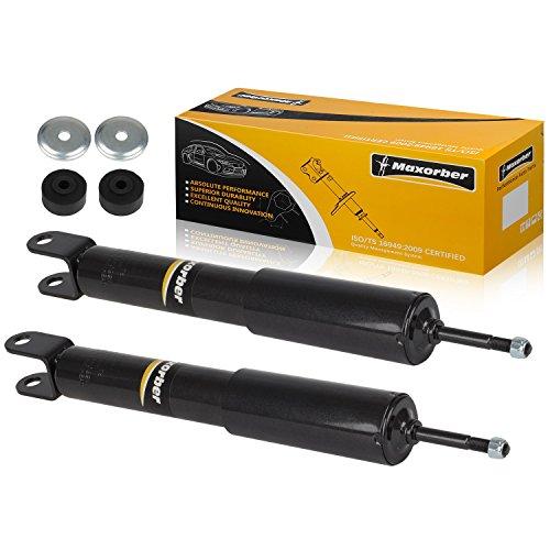 Maxorber Full Set Shocks Struts Absorber Compatible with Chevy Express GMC Savanna 1500 2500 3500 Suburban Chevy Tahoe GMC Yukon 95 96 97 98 99 00 2001 2002 Chevy GMC Shocks Struts 344265 344273