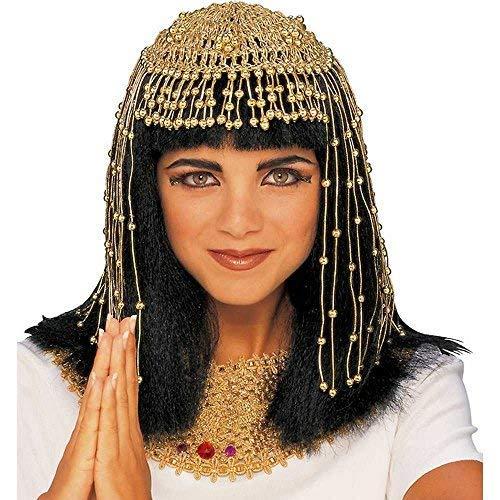 Rubie's unisex adult teen Mesh Cleopatra Headpiece Costume Headwear, As Shown, One Size US