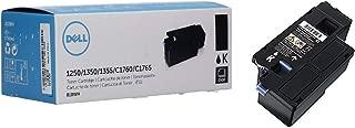 Dell 810WH 1250 1350 1355 C1760 C1765 Toner Cartridge (Black) in Retail Packaging
