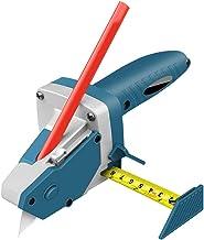 Zebery Allt-i-ett handverktyg med mätband, gipsskiva skäranordning gipsskärande artefakt verktyg