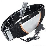 SHAIRMB Masajeador de Cintura, Recortador de Cintura Vibrador Eléctrico, Cinturón Calentador Vibrador de Cintura, para Aliviar Dolor en Oficina/Casa/Coche