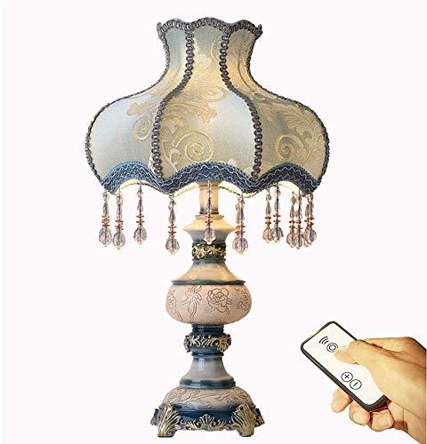 WMY Lámpara de Mesa Lámpara de Mesa Retro Lámpara de Mesa Familiar Lámpara de mesita de Noche 3 Lámparas de Noche 1 Lámpara de Escritorio de Lujo Lámpara de Dormitorio