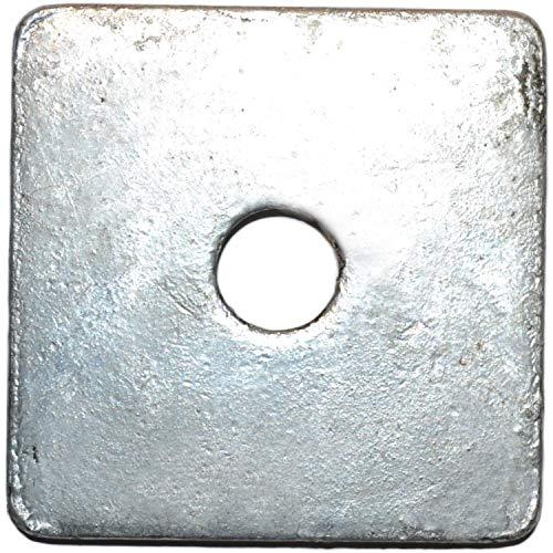 Hard-to-Find Fastener 014973343873 Square Washers, 5/8 x 3x3 x 1/4, Piece-60