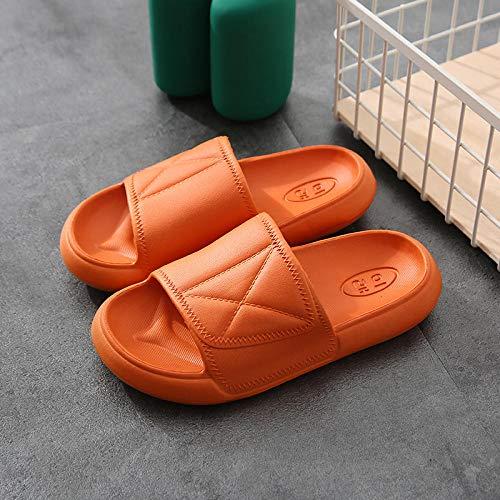 Coral Vaughan Dickbesohlte Sandalen und Hausschuhe für die stille, rutschfeste Badewanne im Innenbereich für Frauen-38-39 Meter