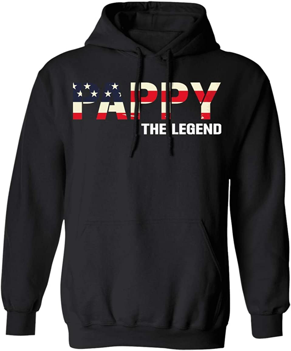VTMMO Pappy The Legend US Flag Fath Gift for Shirt Best 信用 to お得