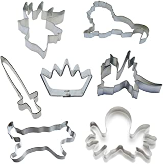 Ultimate Game of Sigils Cookie Cutter Set! Lion, Dire Wolf, Dragon, Stag, Kraken, Crown & Sword. Perfect for your Thrones Party!