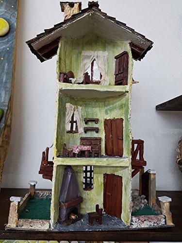 Ambientazione Presepe Casa a Torre su Tegola