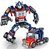 Construccin Robtica, joylink Robot Stem Juguetes de Construccin Educativo Bloques Aprendizaje Kit Diversin Creativa Mejor Regalo de Juguete para Nios de 6 Aos o Ms Nios y Niasazul)