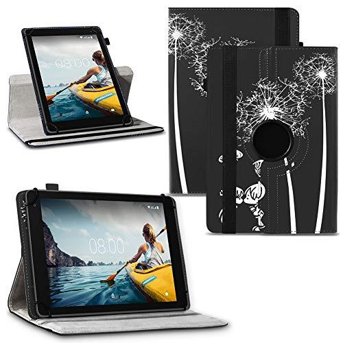 NAUC Tablet Hülle Medion Lifetab P Serie 10 10.1 Zoll Tasche Schutzhülle 360° Drehbar, Tablet:Medion Lifetab P10505