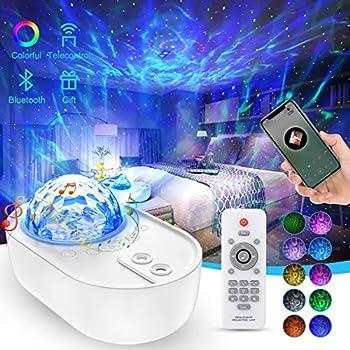 EnBrilite Galaxy Light Star Projector with Bluetooth Speaker