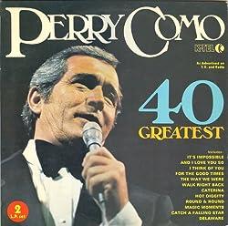 LP PERRY COMO 40 greatest hits 2LPs NE 700 [Vinyl] LP PERRY COMO 40 greatest hits 2LPs NE 700