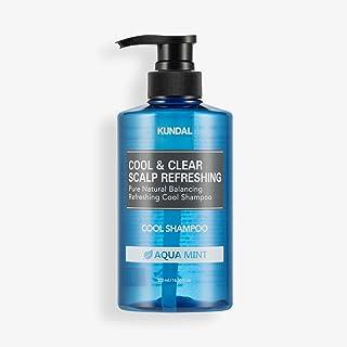 [KUNDAL] Cool & Clear Scalp Refreshing Cool Shampoo 500ml Aqua Mint