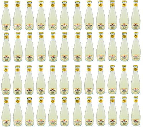 48x San Pellegrino Limonata BIO Sizilianische Zitronen Limonade in Glas 20cl kohlensäurehaltiges alkoholfreies Bio Getränk mit Zitronensaft Softdrink
