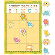 Creative Converting Baby Shower Happi Tree 10 Count Bingo Game