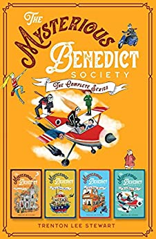 The Mysterious Benedict Society Complete Series (Books 1-4) ebook bundle by [Trenton Lee Stewart]
