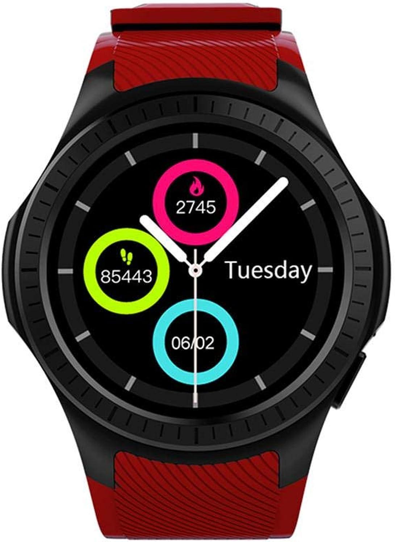 IBaste_top Blautooth Smartwatch L1 Professionelle Sport Gesundheit Smart Watch GPS Location Calls Watch für Schüler und Erwachsene