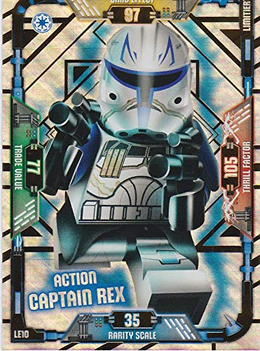 Blue Ocean Lego Star Wars Serie 1 Limitierte Auflage LE10 Action Captain Rex