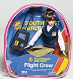 Southwest Airlines Brunette SWA 11' Flight Attendant Doll Backpack & Accessories