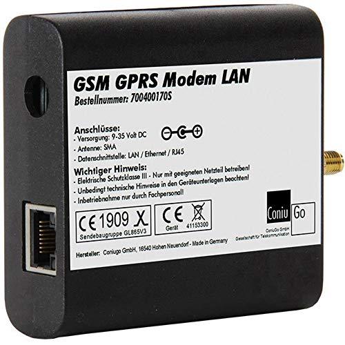 ConiuGo GPRS GSM quadband modem LAN