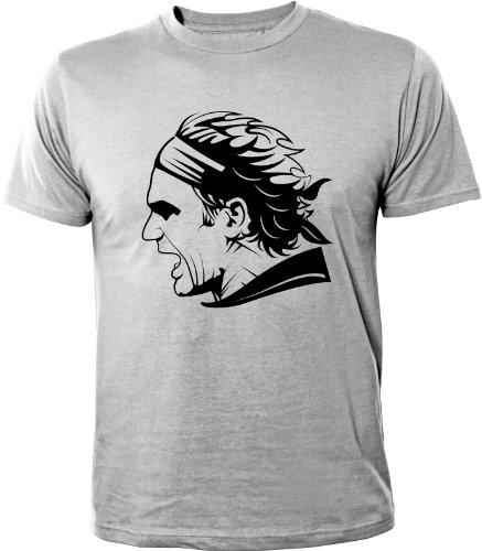Mister Merchandise T-Shirt Roger Federer - Uomo Maglietta S-XXL - Molti Colori