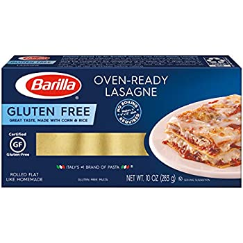 Oven Ready Lasagne Gluten Free 10 Ounce  Pack of 2  by Barilla