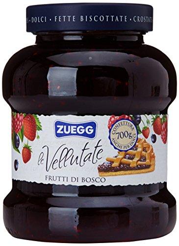 6x Zuegg Frutti di bosco Marmelade Beeren Konfitüre Brotaufstriche Italien 700 g
