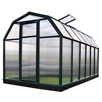 Rion EcoGrow 2 Twin Wall Greenhouse, 6' x 12'