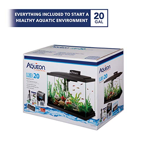 Aqueon Aquarium Starter Kit with LED Lighting 20 High