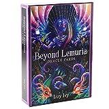 BSWL 56 Tarjetas/Más Allá De Lemuria Oracle Tarjetas, Predicción del Destino Futuro, Juego Informal Juego Jugar Tarjetas De Adivinación Inglés Tarjetas Tarot